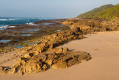 Mission Rocks beach, Cape Vidal, iSimangaliso Wetland Park, South Africa