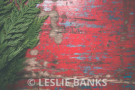 Red vintage table background