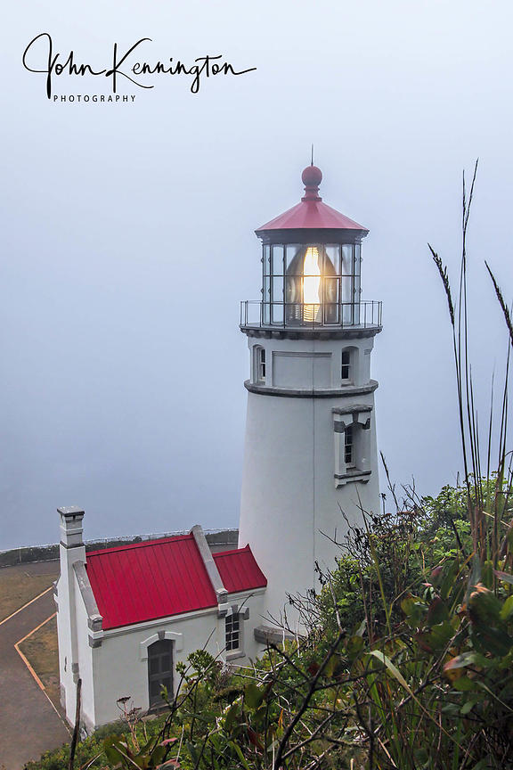 Haceta Head Light No. 1, Florence, Oregon