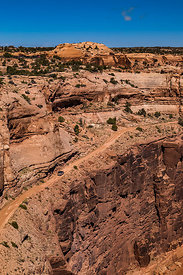 Shafer Trail in Canyonlands National Park
