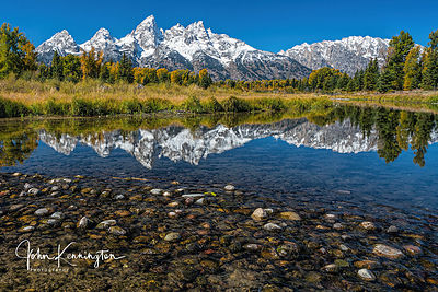 Snake River Reflection, Grand Teton National Park, Wyoming