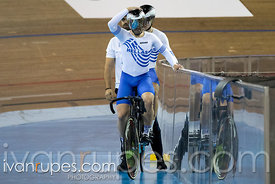Tandem Team Sprint Bronze Medal Final. 2020 UCI Para-Cycling Track World Championships, Day 1 Afternoon Session, January 30, ...