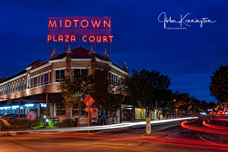 Midtown Plaza Court, Route 66, Oklahoma City