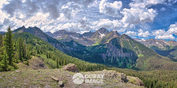 Wilson Creek Overlook, Mount Sneffels