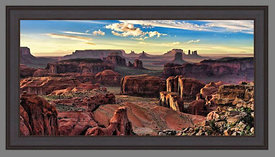 80995_Frame_Example_(Hunt_s_Mesa_Afternoon_Light_24x48_Aluminum)