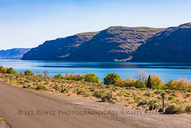 Columbia River at Frenchman Coulee, Washington