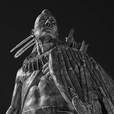 Chickasaw Warrior N0. 1 (BW), Oklahoma City