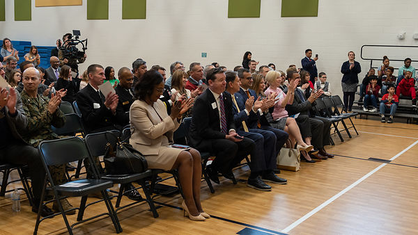 Camp Allen Elementary Dedication Ceremony