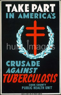 Take part in America's crusade against tuberculosis Cook County Public Health Unit ca. 1940