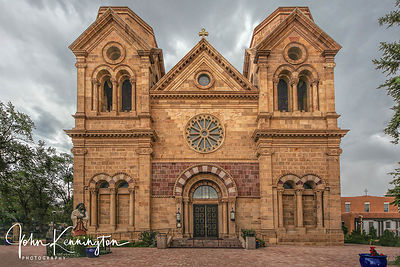 Basilica of Saint Francis. Santa Fe, New Mexico