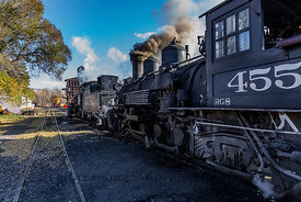 Steam Locomotives on the Cumbres & Toltec Scenic Railroad
