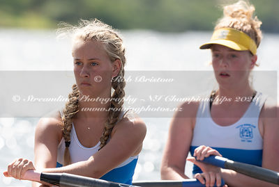 Taken during the NZNI Championships 2020, Lake Karapiro, Cambridge, New Zealand; ©  Rob Bristow; Frame 6131 - Taken on: Frida...