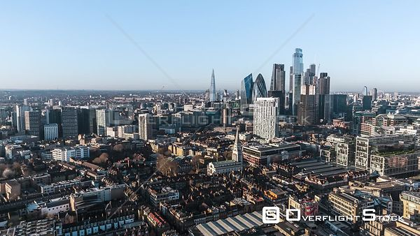 Drone Video London England