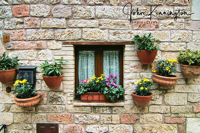 Assisi Window No. 1, Assisi, Italy