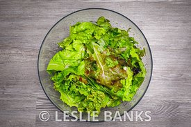 Organic Lettuce in a Bowl