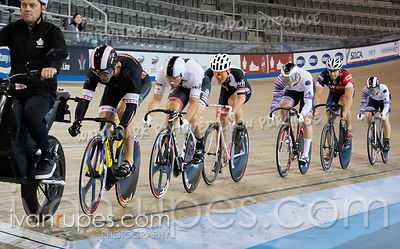 Master A Men Keirin 1-6 Final. Canadian Track Championships, September 28, 2019