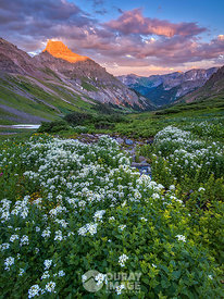 Dusk in Yankee Boy Basin