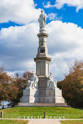 Soldiers' National Monument at Gettysburg National Battlefield