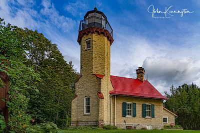 McGulpin Point Lighthouse, Lake Michigan, Mackinac City, Michigan