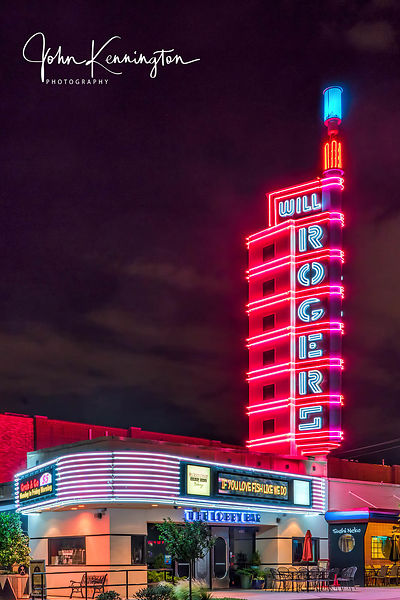 Will Rogers Theatre, Route 66, Oklahoma City