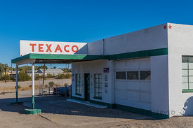 Texaco Station on Route 66 in  Needles, California