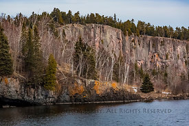 Lake Superior Cliffs in Minnesota's Tettegouche State Park