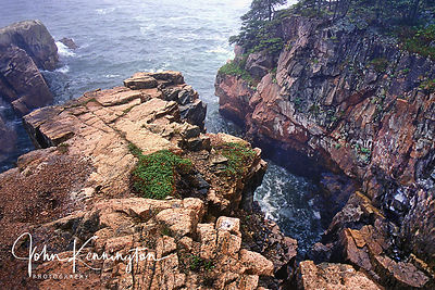 Storm at Ravens Nest, Schoodic Point, Maine