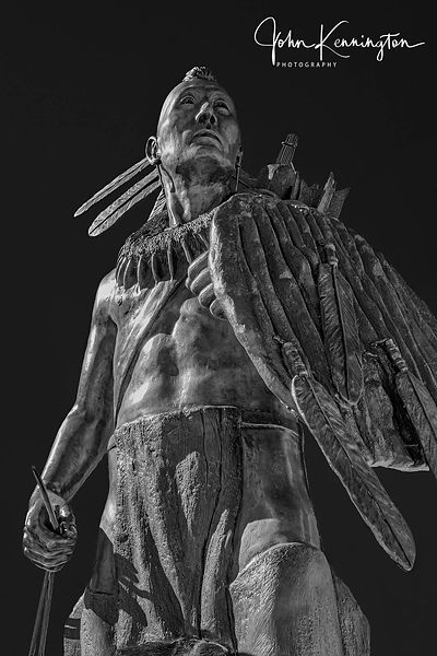 Chickasaw Warrior No. 2 (BW), Oklahoma City