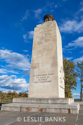 Eternal Light Peace Memorial at Gettysburg National Military Park