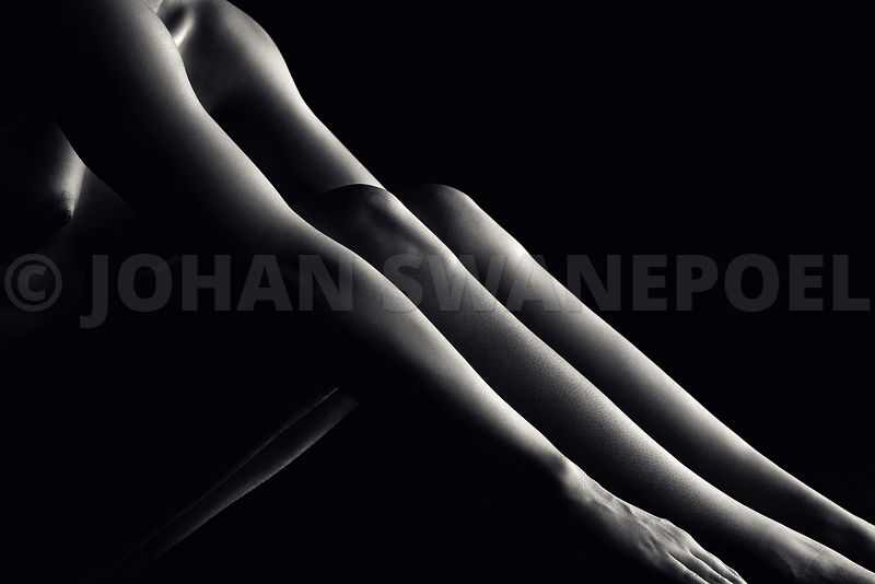 Nude woman bodyscape 48