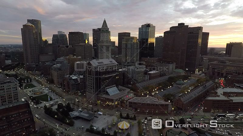 Downtown Boston at Dusk