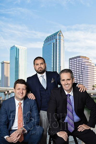 Brand Photography - Marcus & Millichap | Group Photos | Medefind, Garner, Shiebler | Professional Headshots | St. Pete