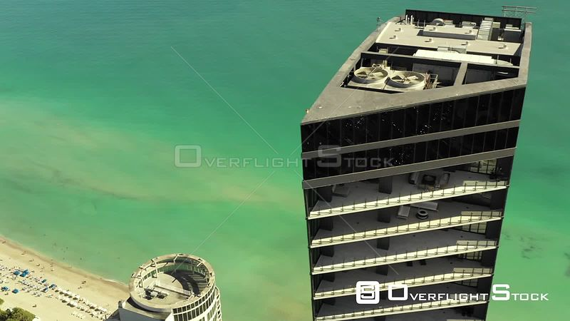 Muse Residences Aerial Tour Above Miami Sunny Isles Beach Florida