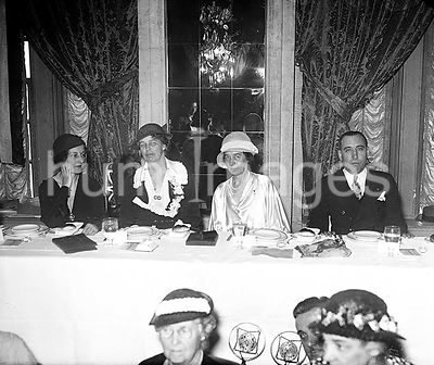 Mrs. Eleanor Roosevelt is Guest of American Pen Women at a breakfast at the Willard Hotel in Washington D.C.
