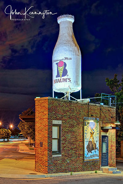 Milk Bottle Grocery, Route 66, Oklahoma City