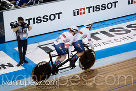 Women Tandem Time Trial. 2020 UCI Para-Cycling Track World Championships, Day 3 Afternoon Session, February 1, 2020