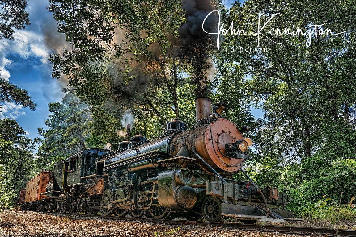 Steaming Through the Piney Woods, Rusk Texas
