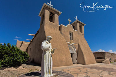St Francis at San Francisco De Asis Church, Rancho de Taos, New Mexico