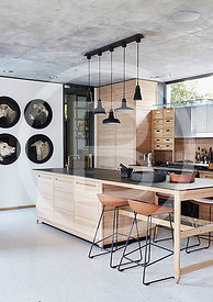 Focus Feature: Wooden Kitchens
