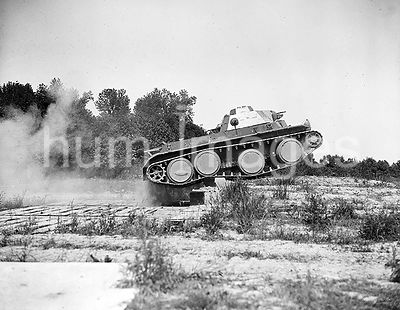June 11, 1936 - Tank during exercises