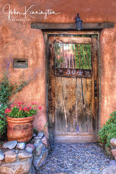 Santa Fe Door No. 1, Santa Fe, New Mexico