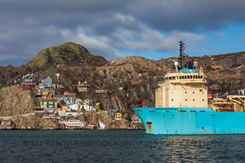 Maersk Dispatcher Ship Passing The Battery in St. John's