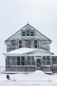 Old Farmhouse in Michigan's Upper Peninsula