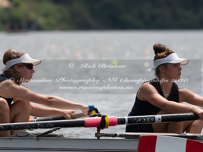 Taken during the NZNI Championships 2020, Lake Karapiro, Cambridge, New Zealand; ©  Rob Bristow; Frame 5946 - Taken on: Frida...
