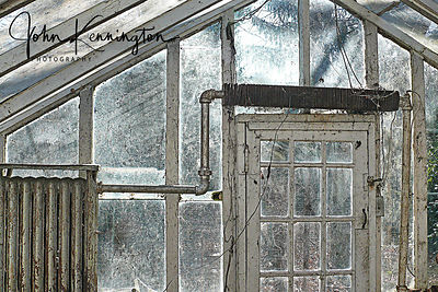 Greenhouse Door, Summit, New Jersey