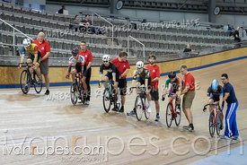 Cat C-D Keirin 1-6 Final. Track O-Cup #2, January 12, 2020