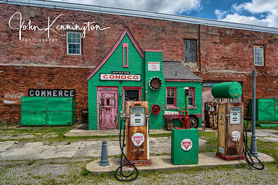 Allens Fillin Station, Route 66, Commerce, Oklahoma