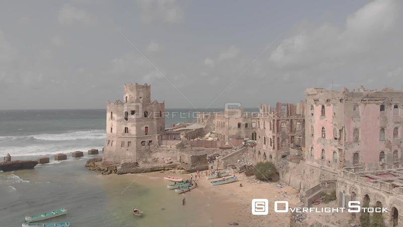 Old Port of Mogadishu Somalia Africa