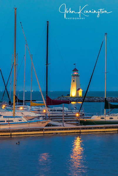 Lake Hefner Light, Oklahoma City, Oklahoma