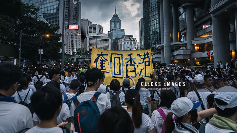 Hong Kong Demonstration Against Extradition Bill 2019